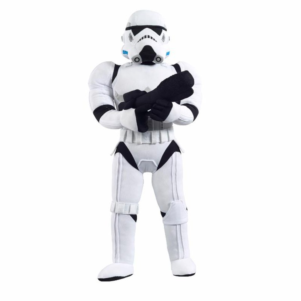 Image of Star Wars Stormtrooper Poseable 24 Inch Plush Figure