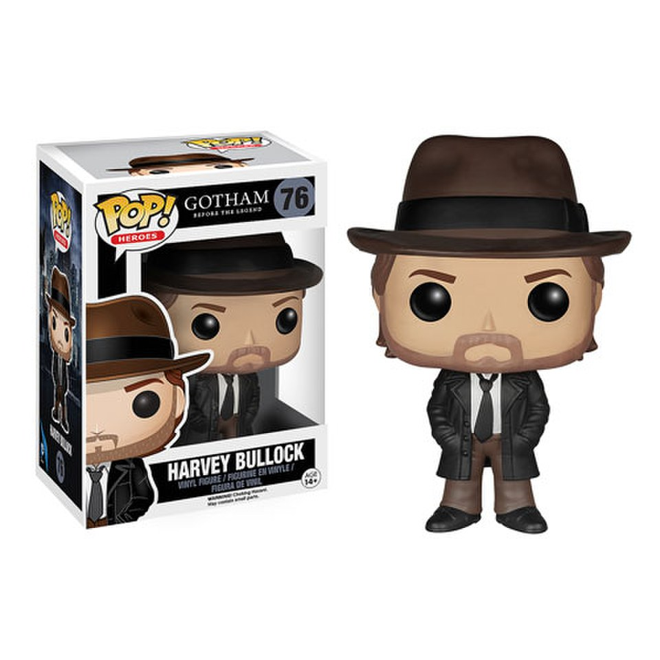 Dc Comics Gotham Harvey Bullock Pop Vinyl Figure