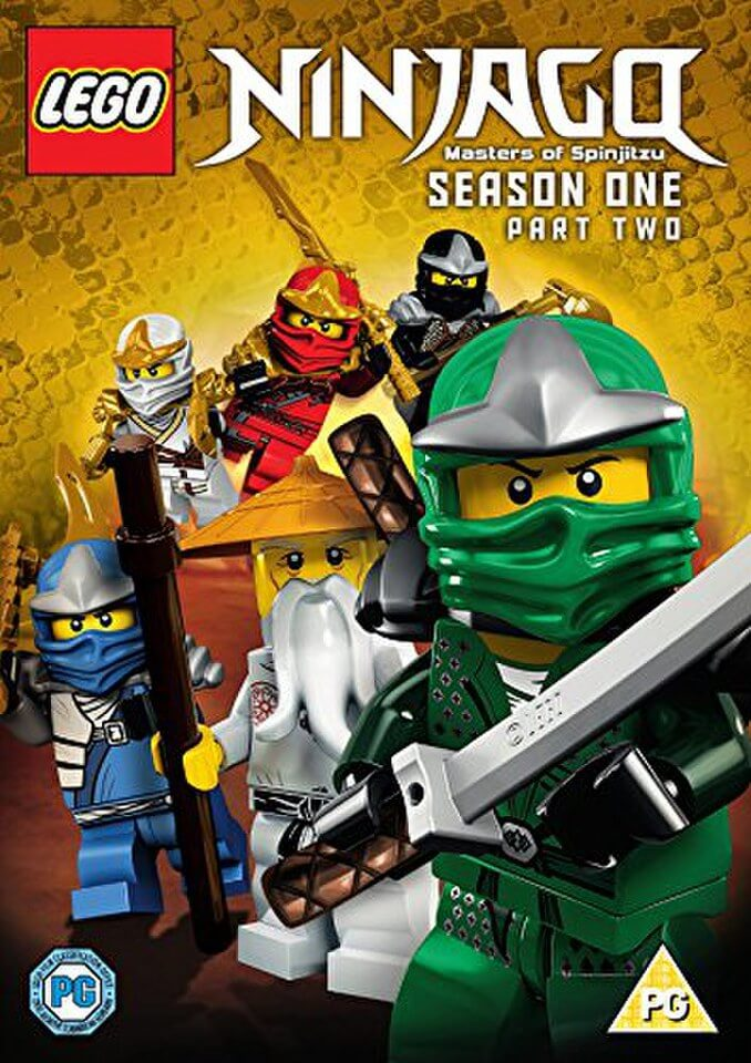 Lego Ninjago Series 1 Part 2 Dvd Zavvi