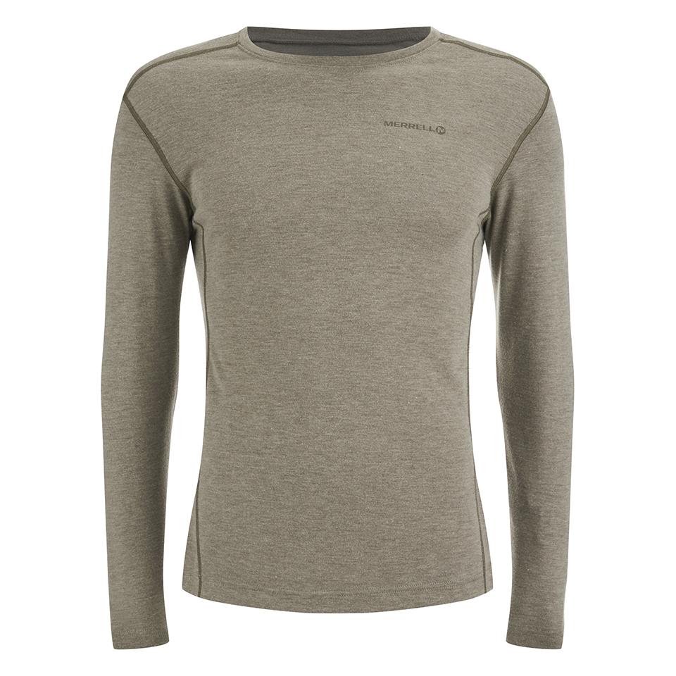 merrell-geom-long-sleeve-t-shirt-cappuccino-heather-xl