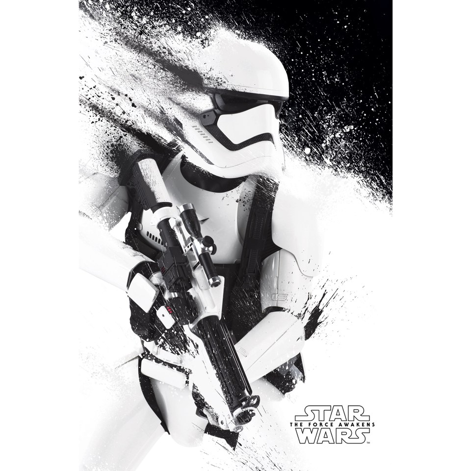 star-wars-the-force-awakens-stormtrooper-paint-24-x-36-inches-maxi-poster