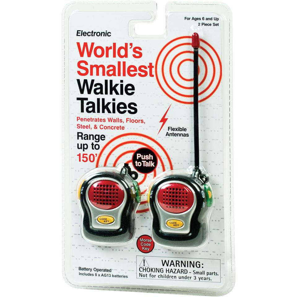 Das kleinste Walkie-Talkie der Welt