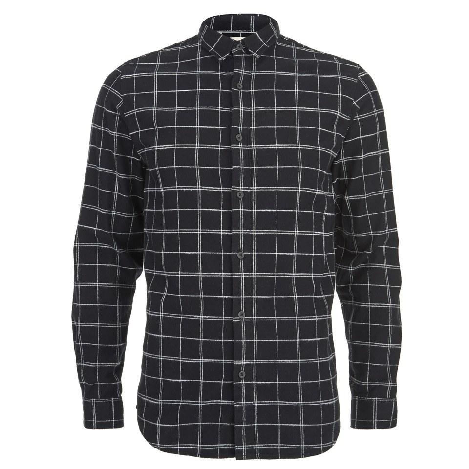 selected-homme-men-bei-shirt-black-s