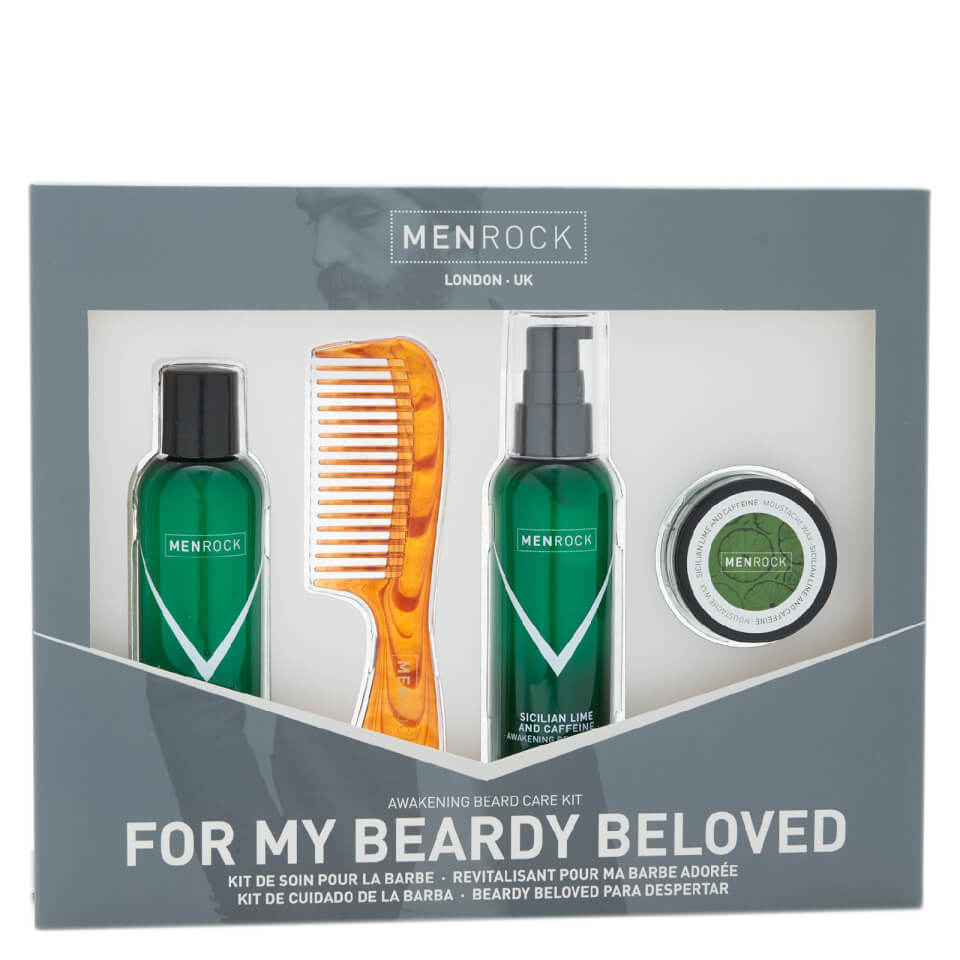 men-rock-awakening-beard-care-kit-beardy-beloved-beard-shampoo-beard-balm-moustache-wax-beard-comb