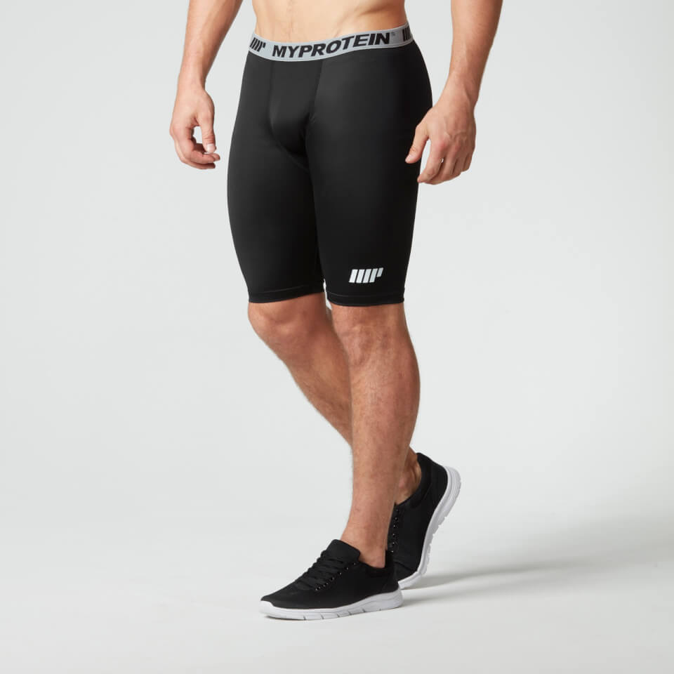 Foto Myprotein Men's Compression Shorts, Black, S