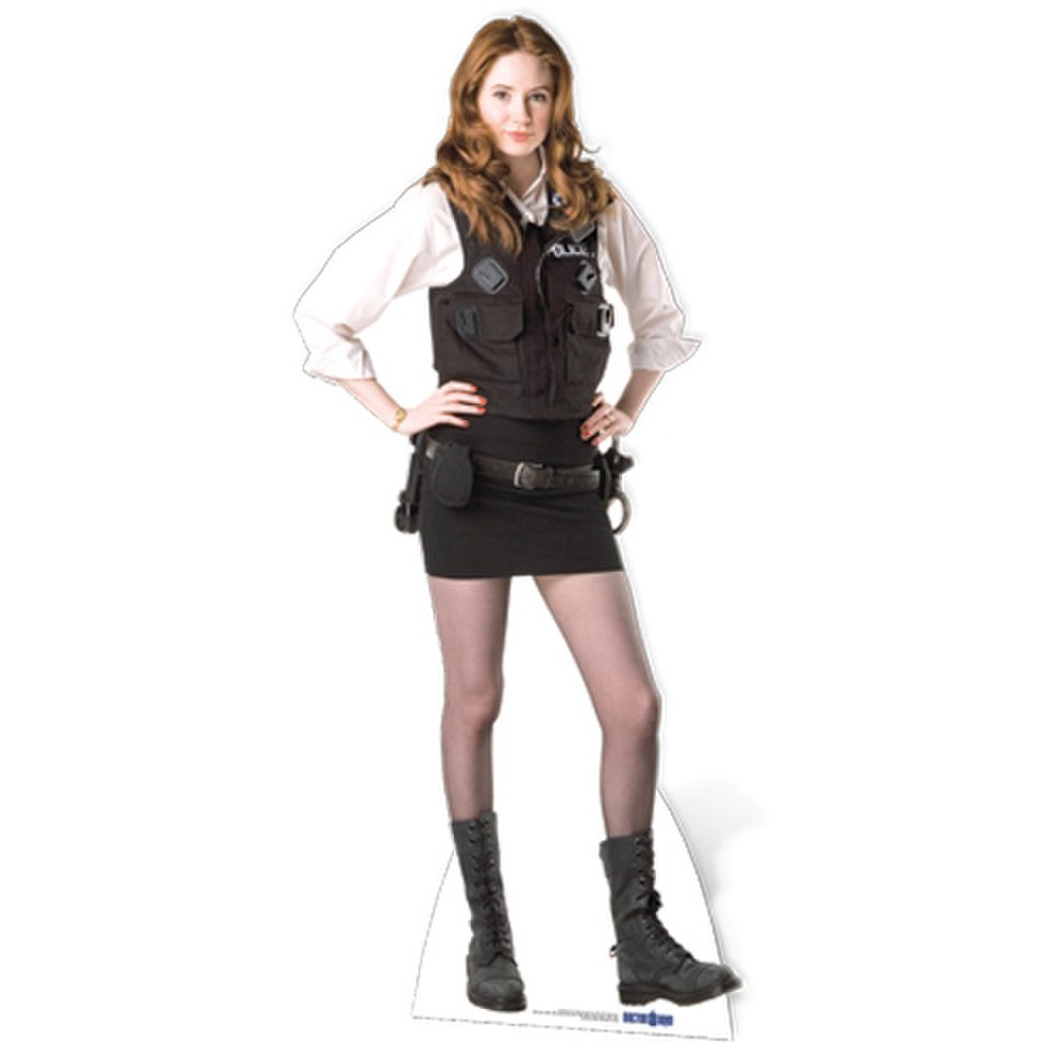 doctor-who-amy-pond-policewoman-uniform-cut-out