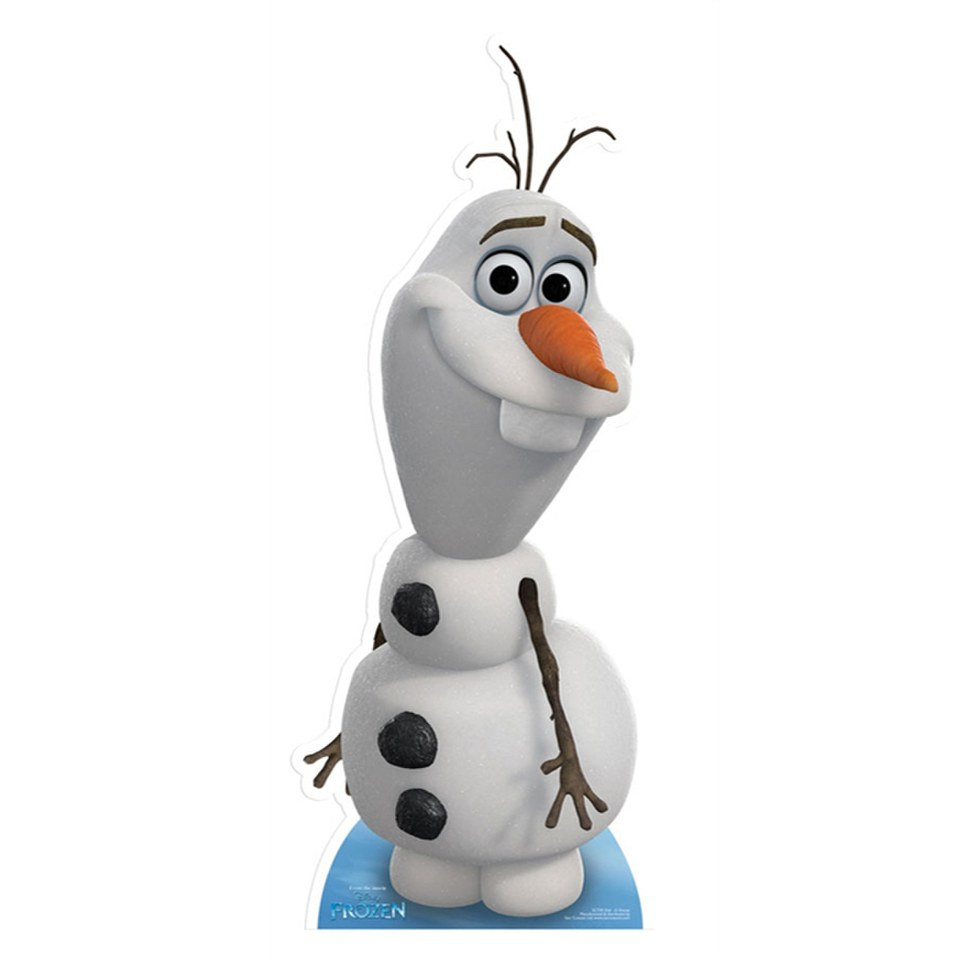 disney-frozen-olaf-cut-out