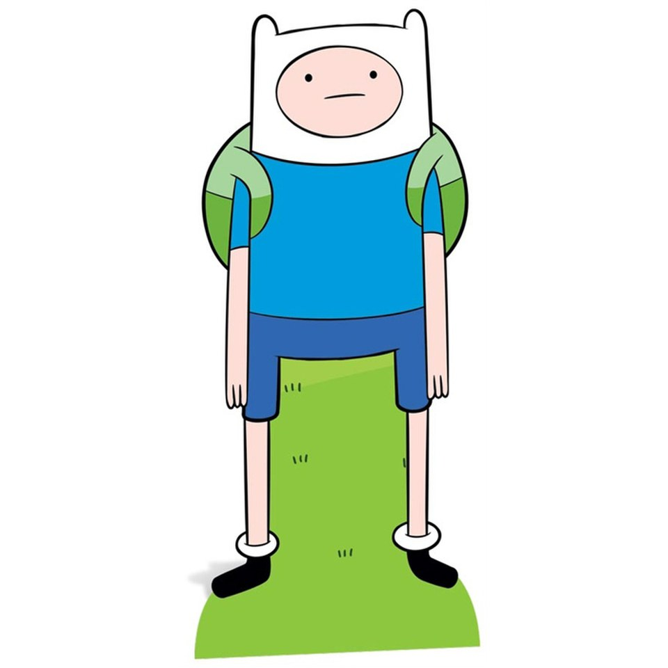 Adventure Time Finn Cut Out