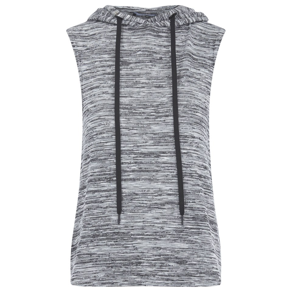 Myprotein Women's Slouch Sleeveless Hoodie - Grey, UK 10 (USA)