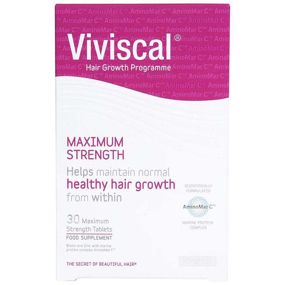 Viviscal Maximum Strength Supplement�(30�compresse)