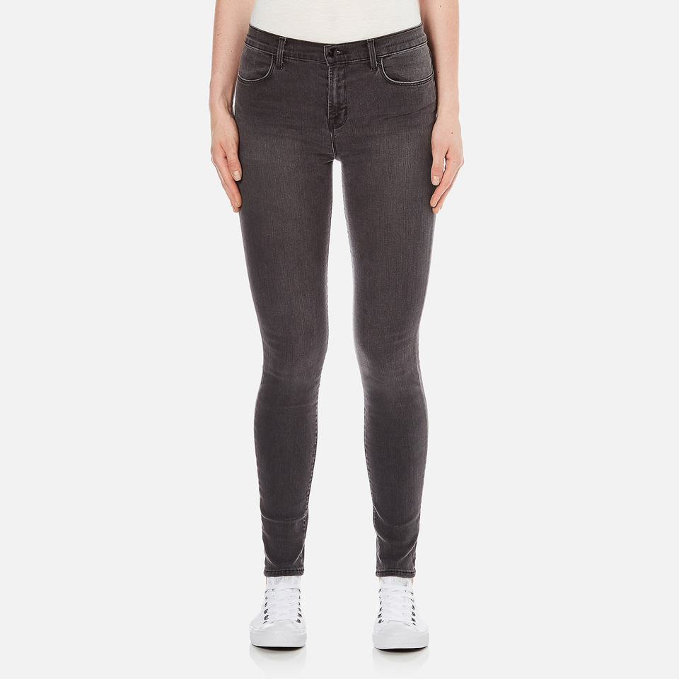 J Brand Womens 23110 Maria High Rise Photoready Skinny Jeans Nightbird W27/l32