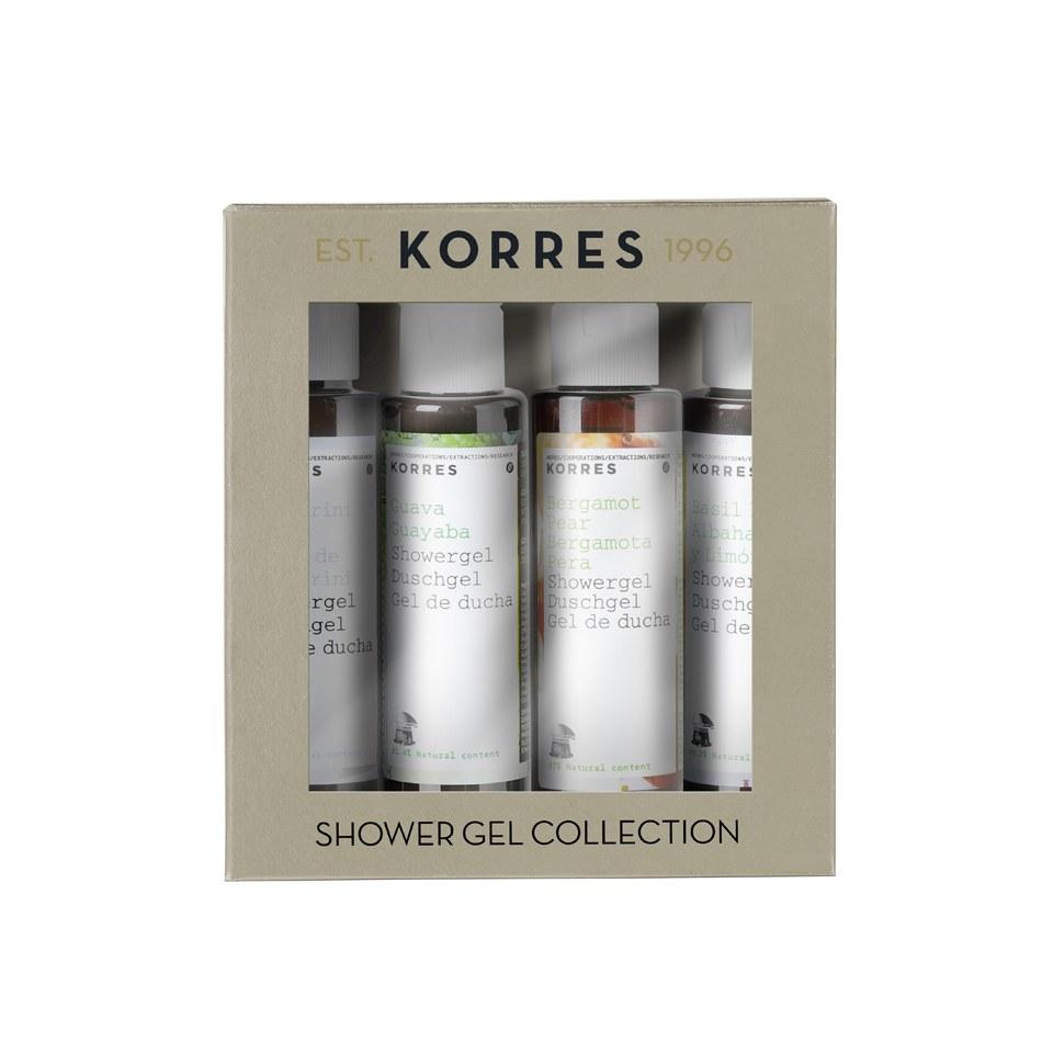 Korres Mini Shower Gel Set (värt  12.00)