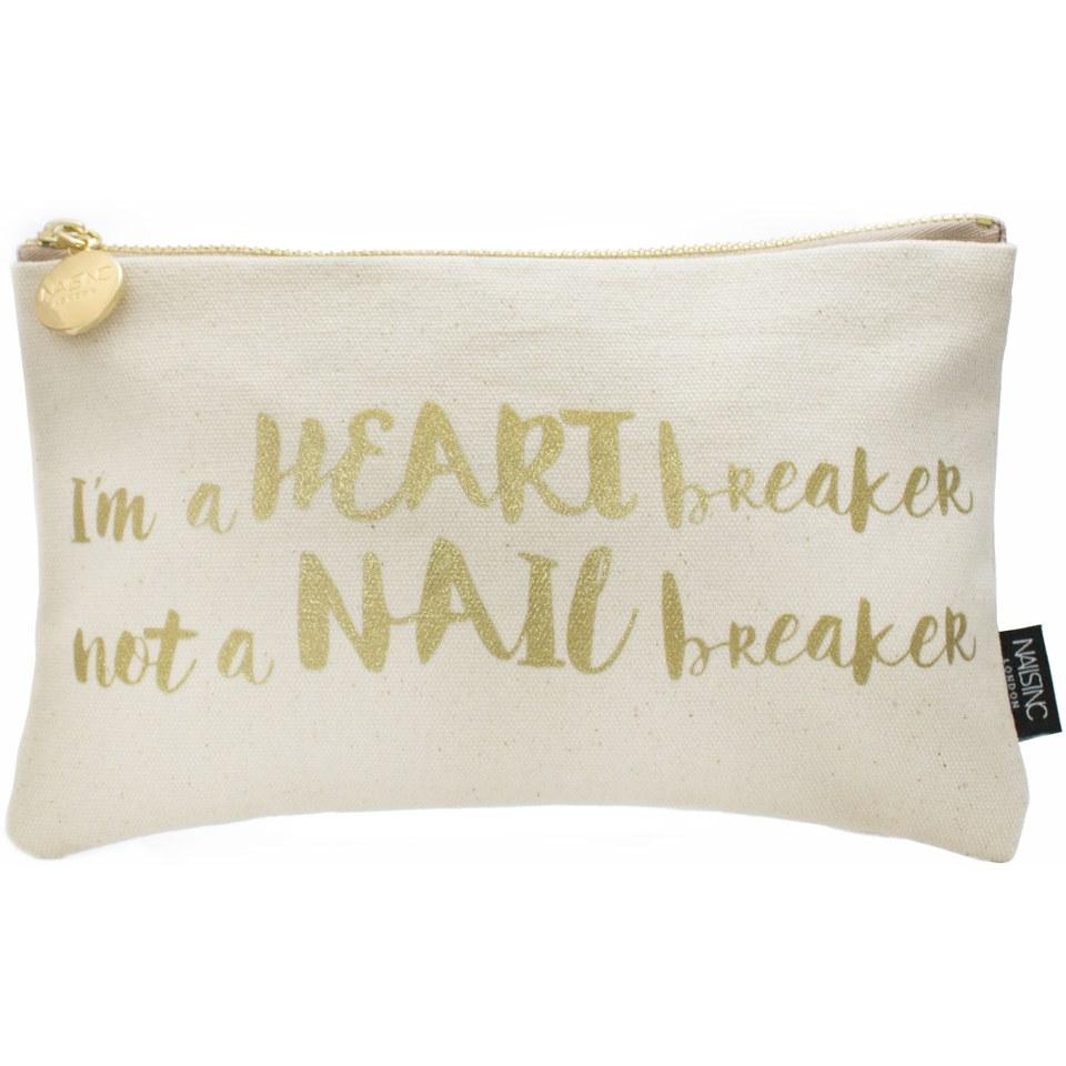 nails-slogan-im-a-heart-breaker-not-a-nail-breaker-canvas-cosmetic-bag-pink