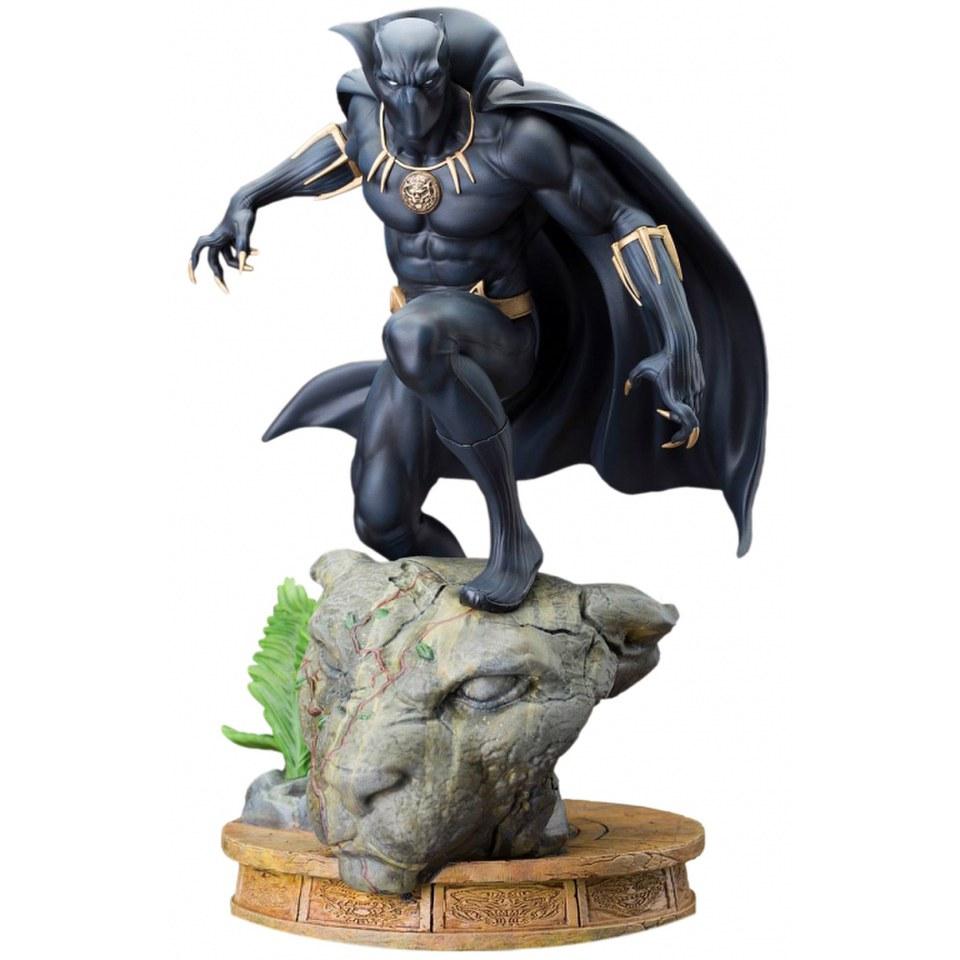 Kotobukiya Marvel The Avengers Black Panther 12 Inch