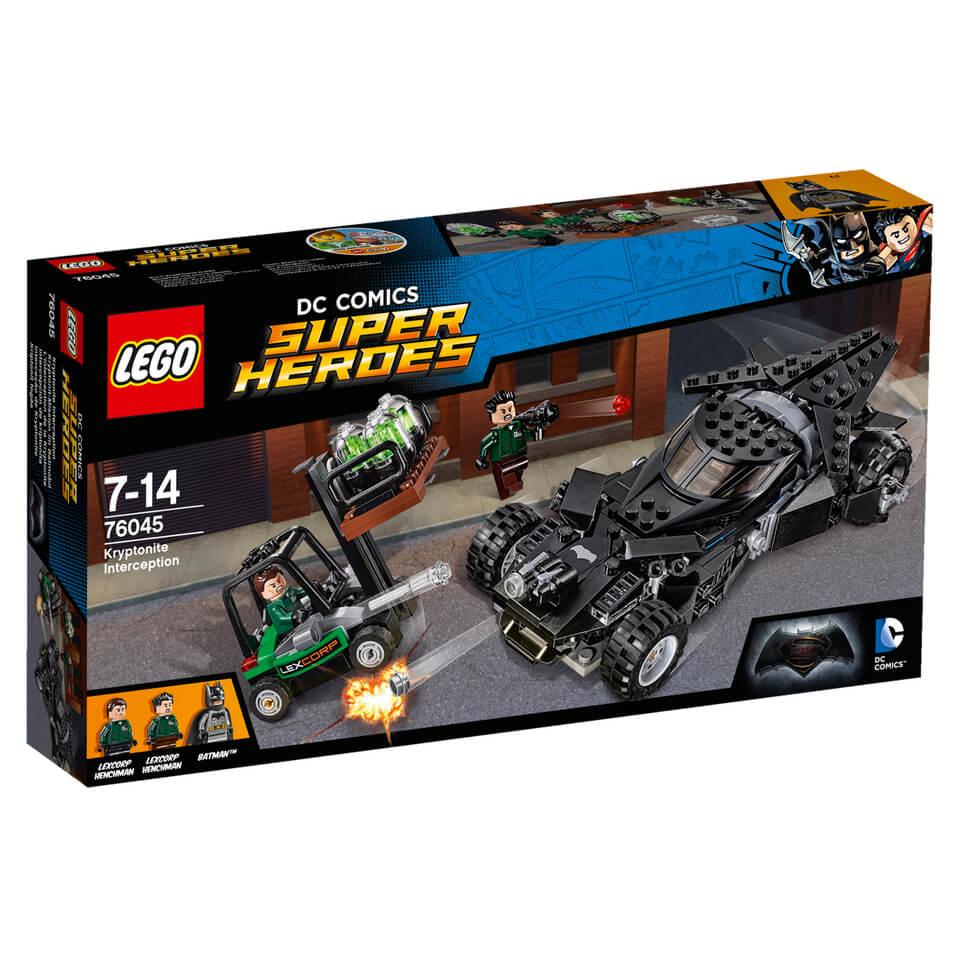 LEGO DC Comics Batman v Superman Kryptonit Mission im Batmobil (76045)