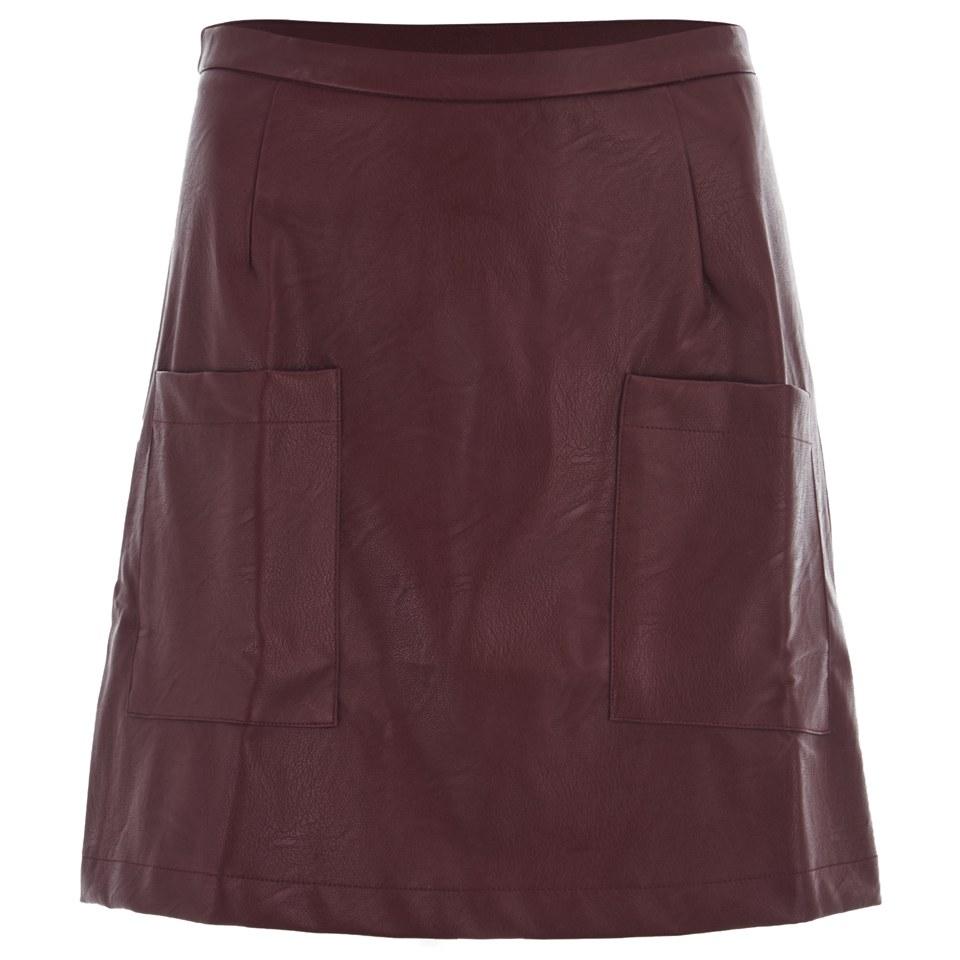 minkpink-women-sugar-coat-a-line-skirt-ox-blood-red-6