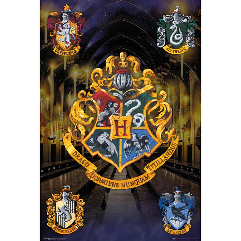 harry-potter-crests-24-x-36-inches-maxi-poster