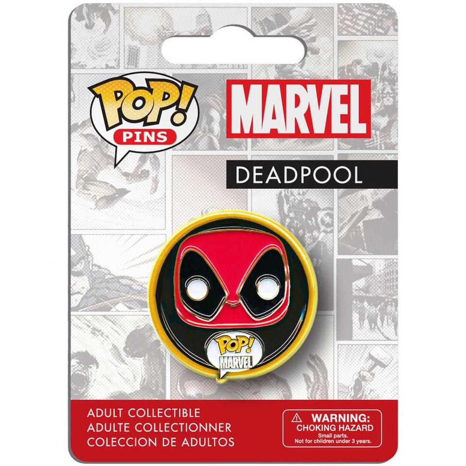 Marvel Comics POP! Pins Ansteck Button Deadpool