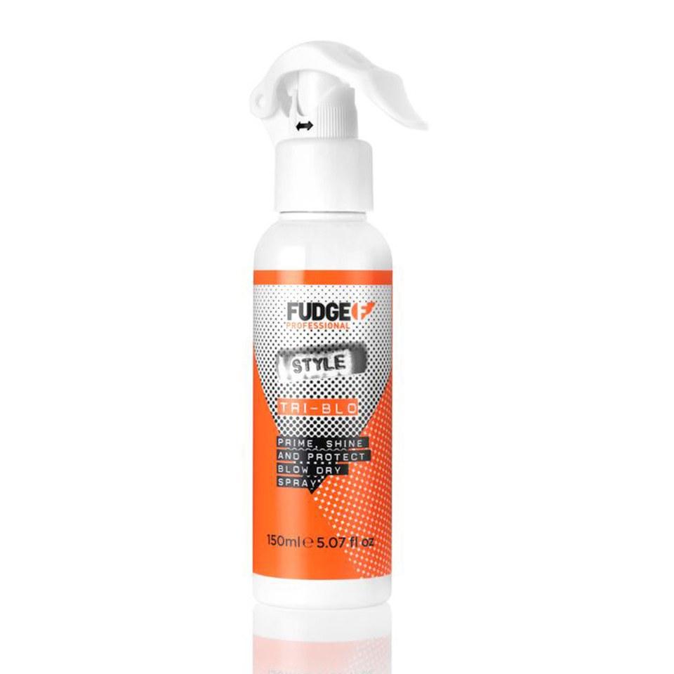 fudge-tri-blo-prime-shine-protect-blow-dry-spray-150ml