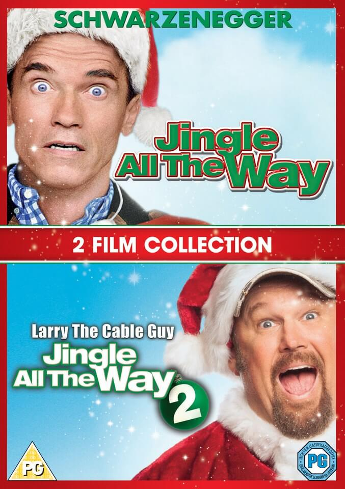 Jingle All The Way 1 Amp 2 Dvd Zavvi