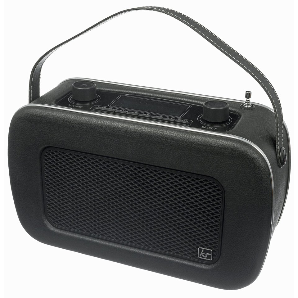 kitsound-jive-retro-portable-dab-radio-with-alarm-clock-black