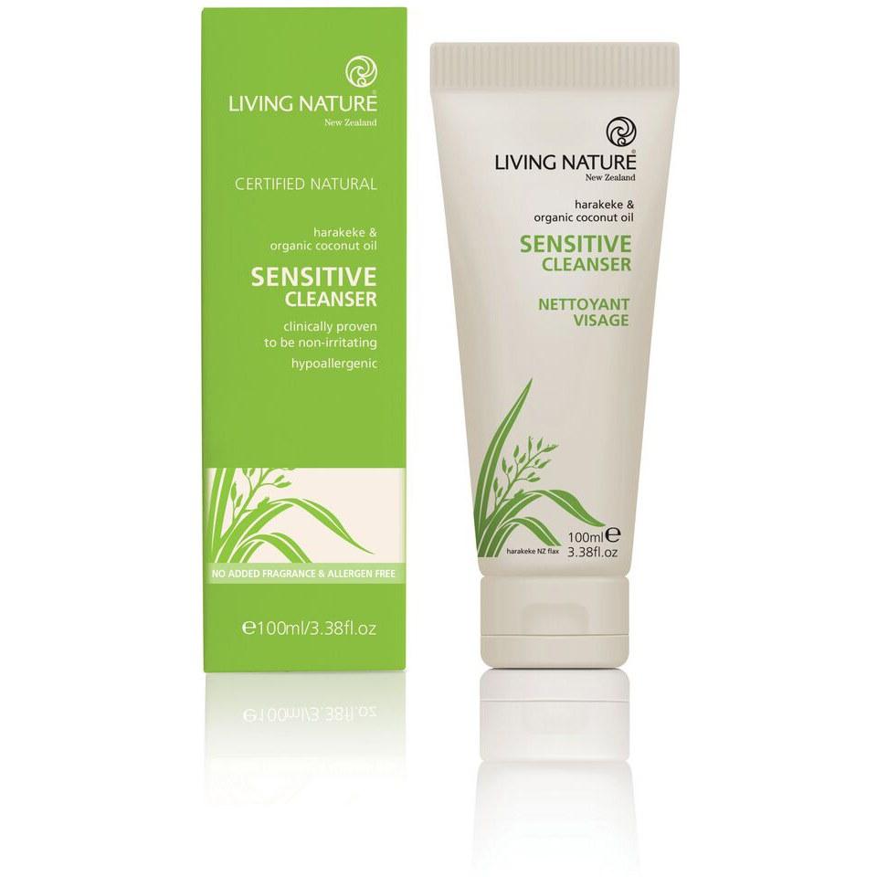 living-nature-sensitive-cleanser-100ml