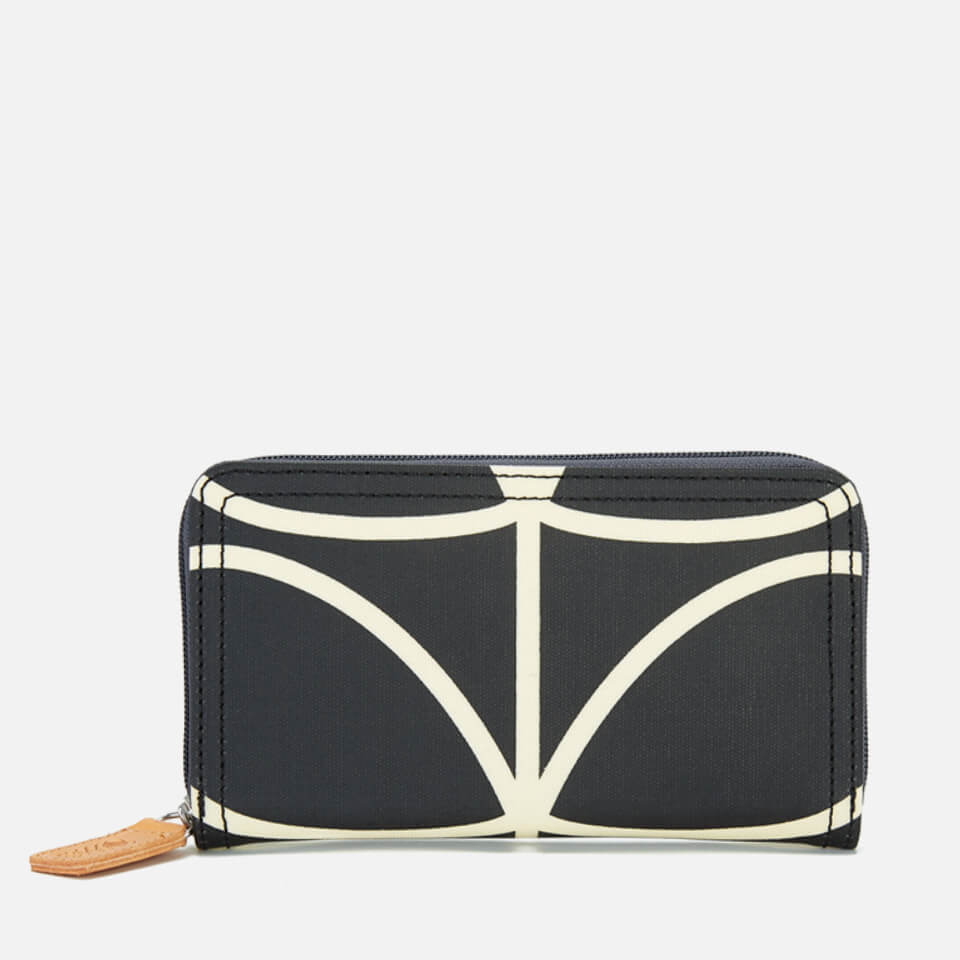 orla-kiely-women-stem-big-zip-wallet-black
