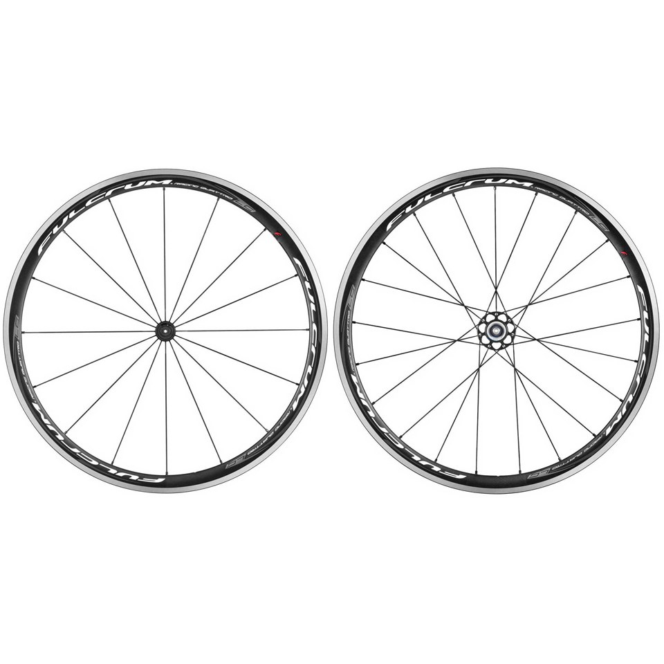 Fulcrum Racing Quattro LG Clincher Wheelset - Campagnolo - Black