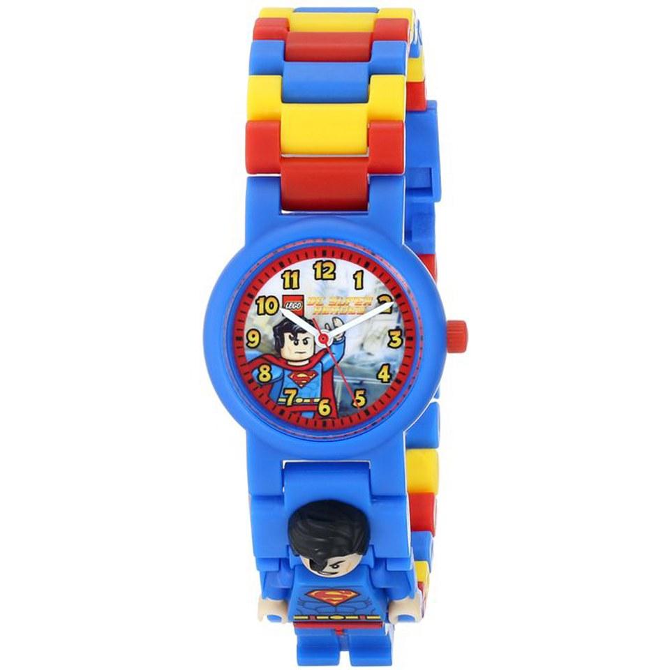 LEGO DC Universe Super Heroes Superman Kinderuhr
