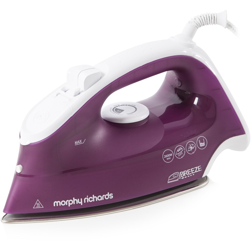 morphy-richards-300255-breeze-steam-iron-with-ceramic-sole-plate-mulberry-2200w