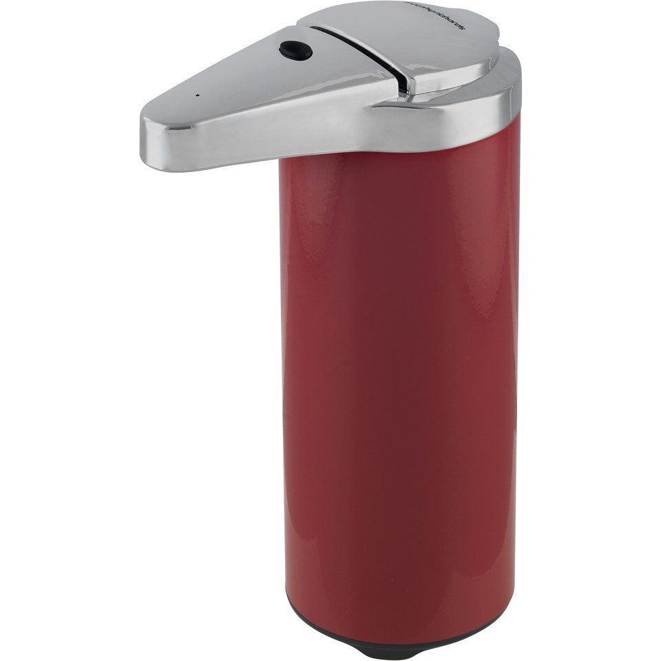 morphy-richards-250ml-sensor-soap-dispenser-red