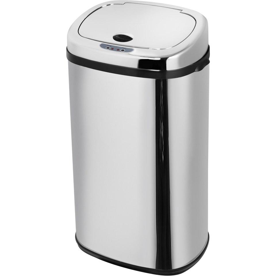 morphy-richards-971504mo-square-sensor-bin-stainless-steel-42l