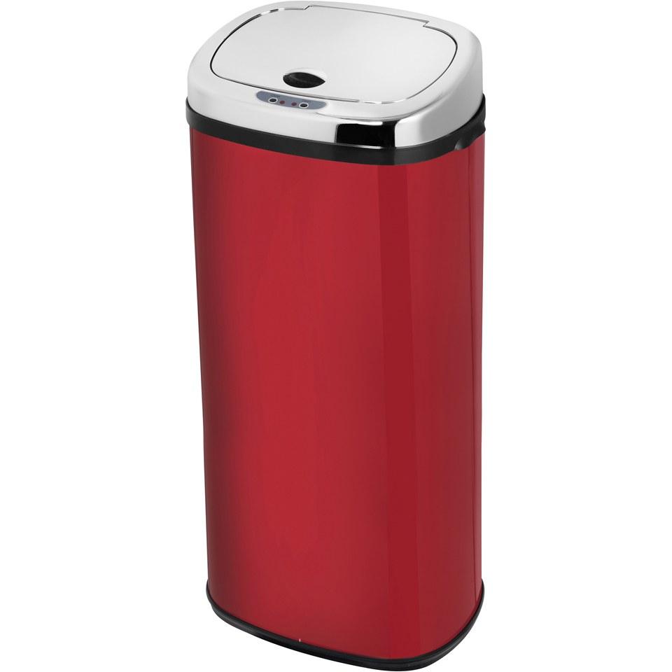 morphy-richards-971516mo-50l-square-sensor-bin-red