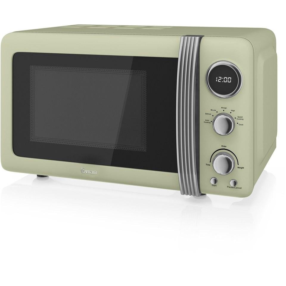 swan-sm22030gn-800w-digital-microwave-green