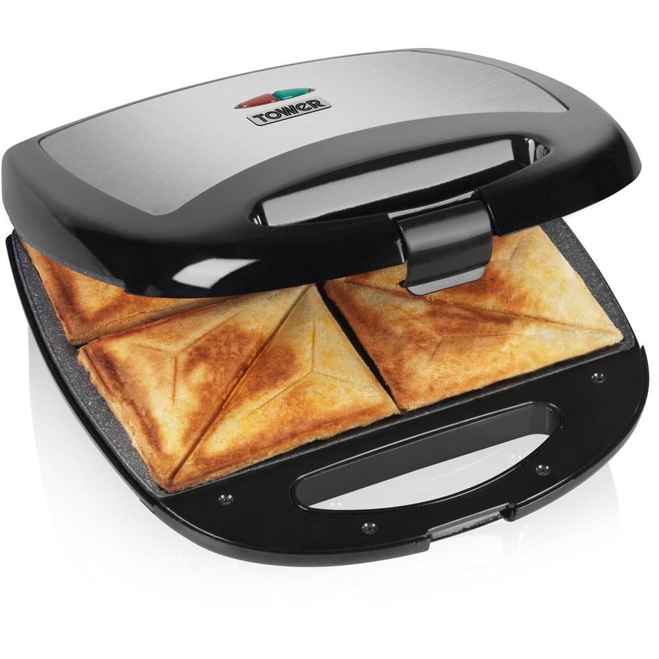 Tower T27010 4 Slice Sandwich Maker