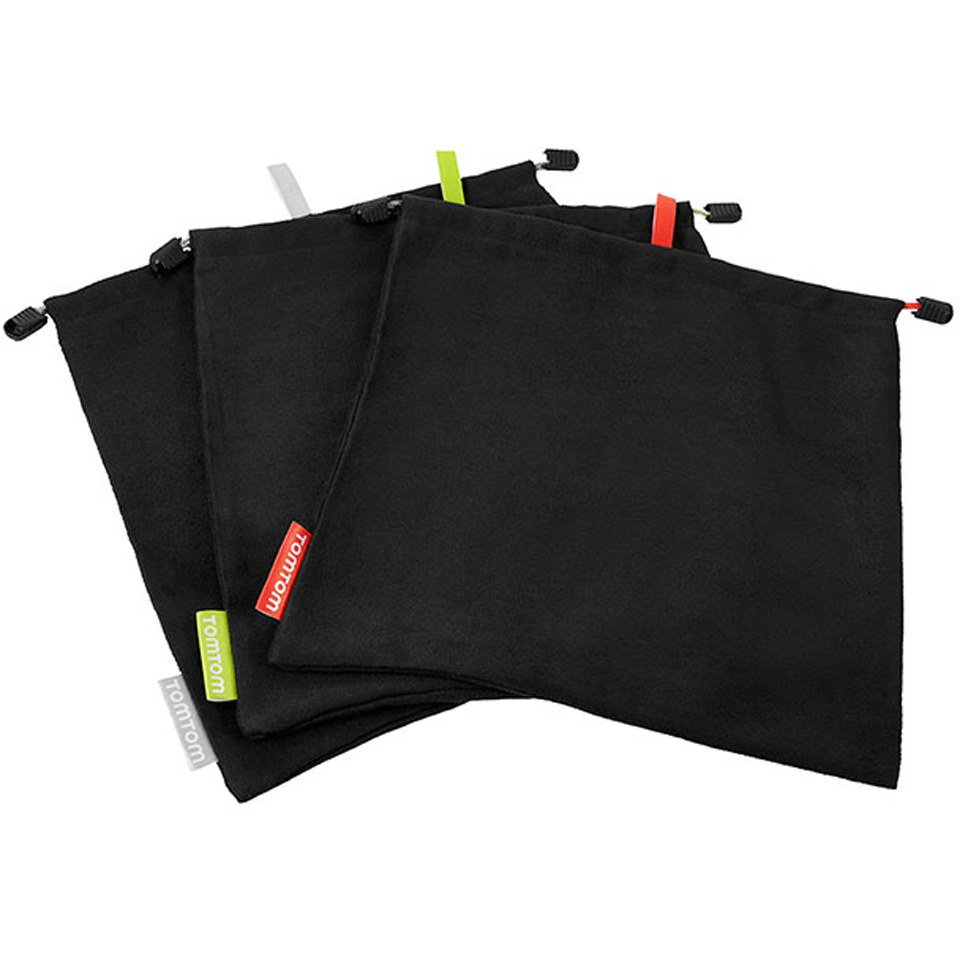tomtom-bandit-micro-fiber-bags-x-3-black