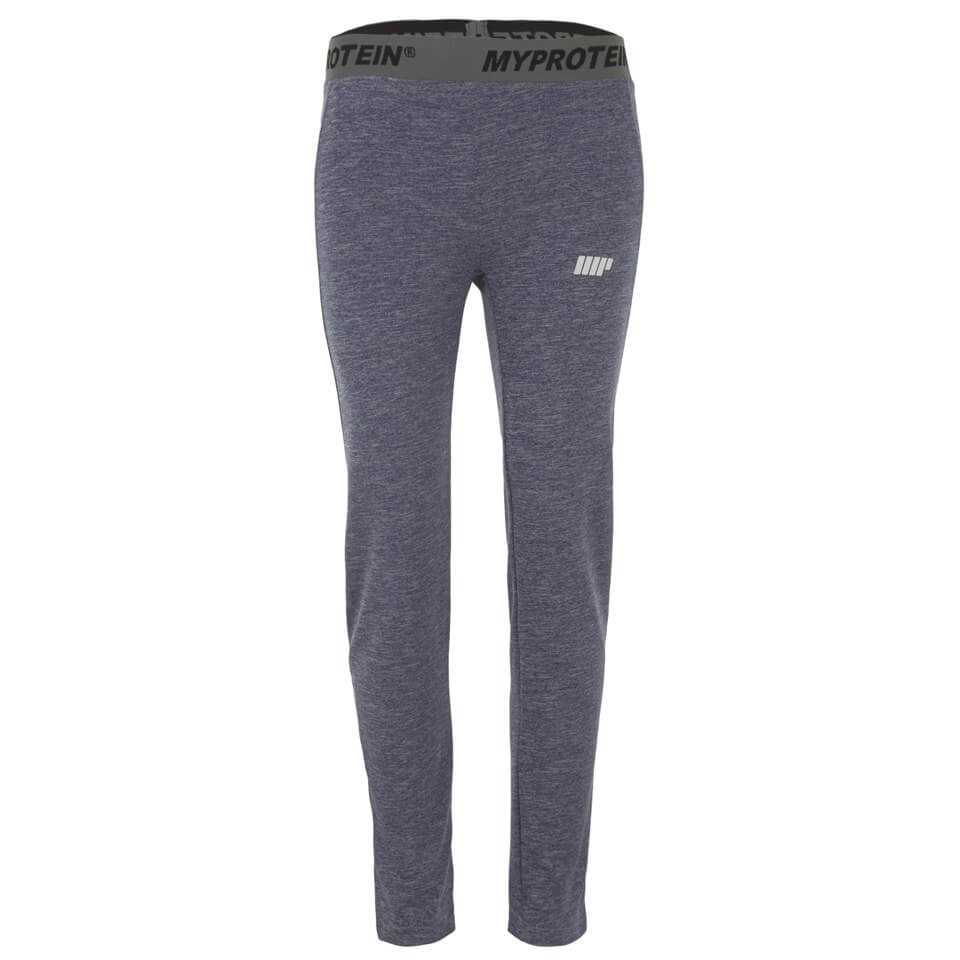 Myprotein Women's Core Leggings - Blue Marl, XS