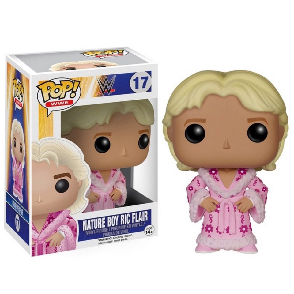 Wwe Nature Boy Ric Flair Limited Edition Pop Vinyl Figure