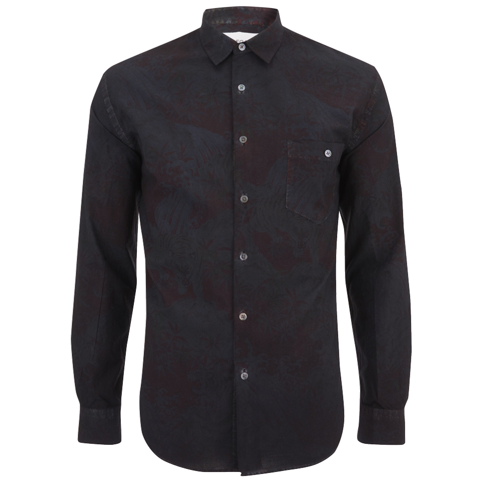 Our legacy men 39 s jumbo long sleeve shirt overdyed tigers for Staples custom t shirts