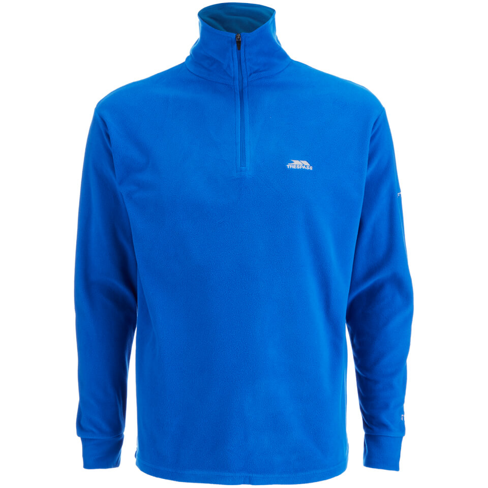 trespass-men-masonville-half-zip-fleece-jumper-electric-blue-s