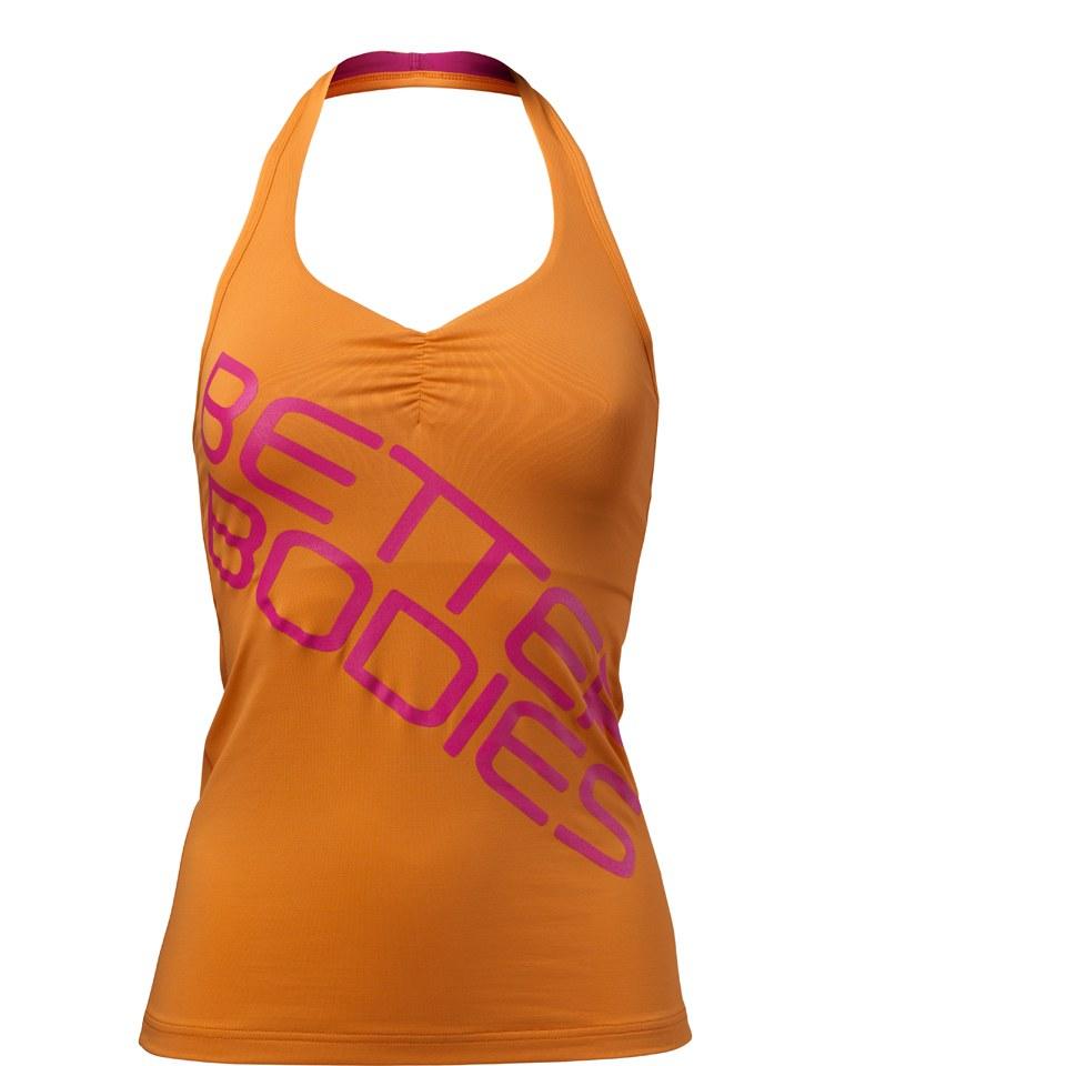 better-bodies-women-halterneck-tank-top-bright-orange-xs-oranssi