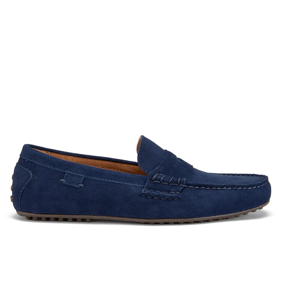 Polo Ralph Lauren Men S Wes E Suede Loafers Newport Navy