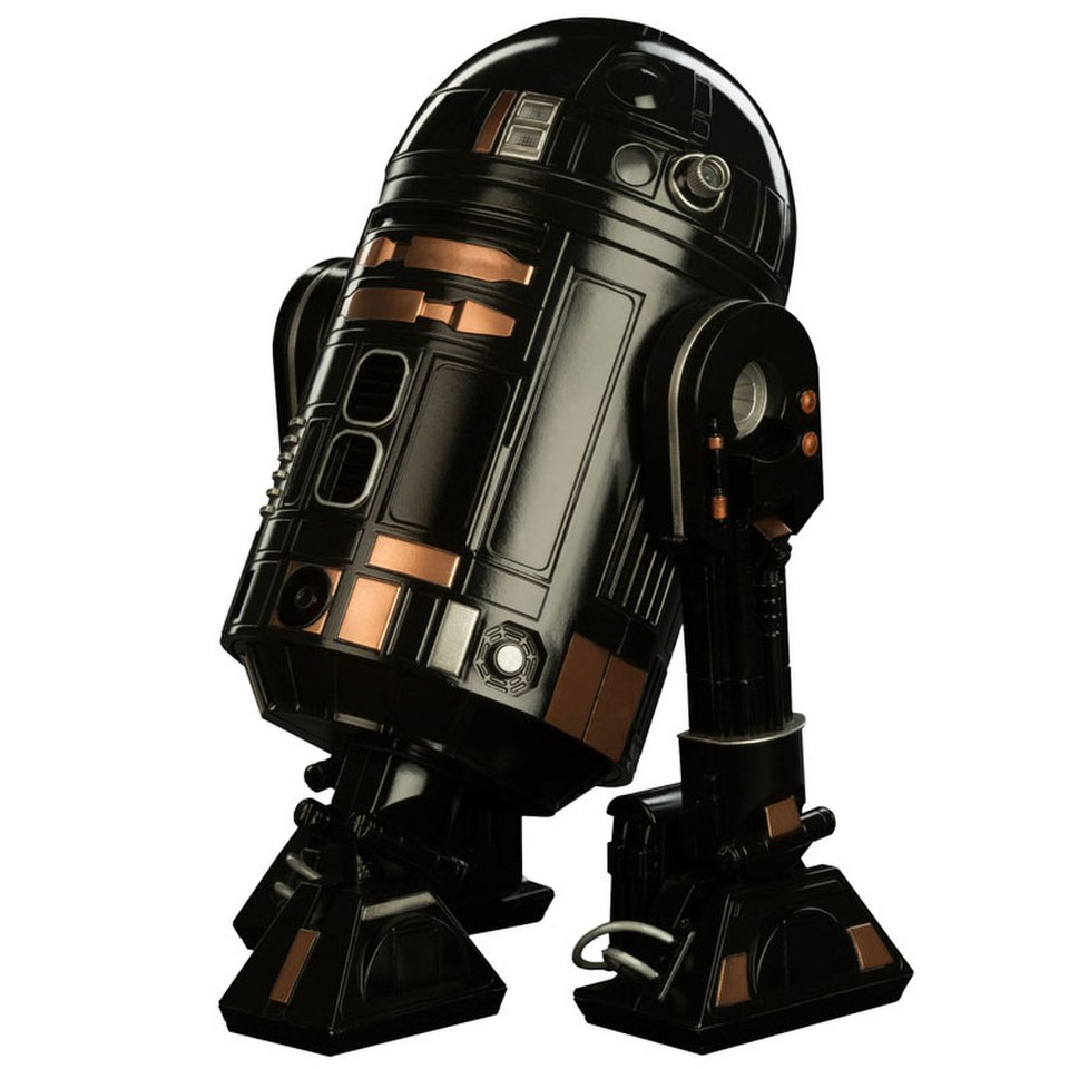 Star Wars Action Episode VI Imperial Astromech Droid R2 Q5 Figure 17cm