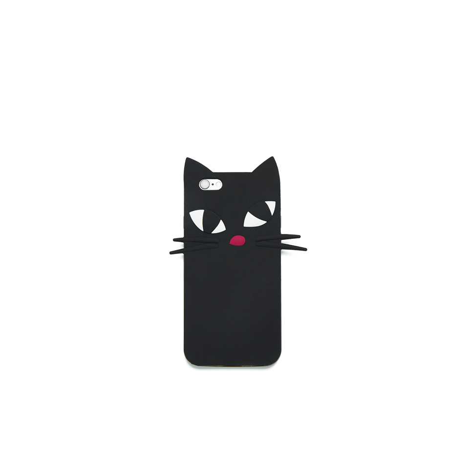 lulu-guinness-women-kooky-cat-iphone-6-case-black