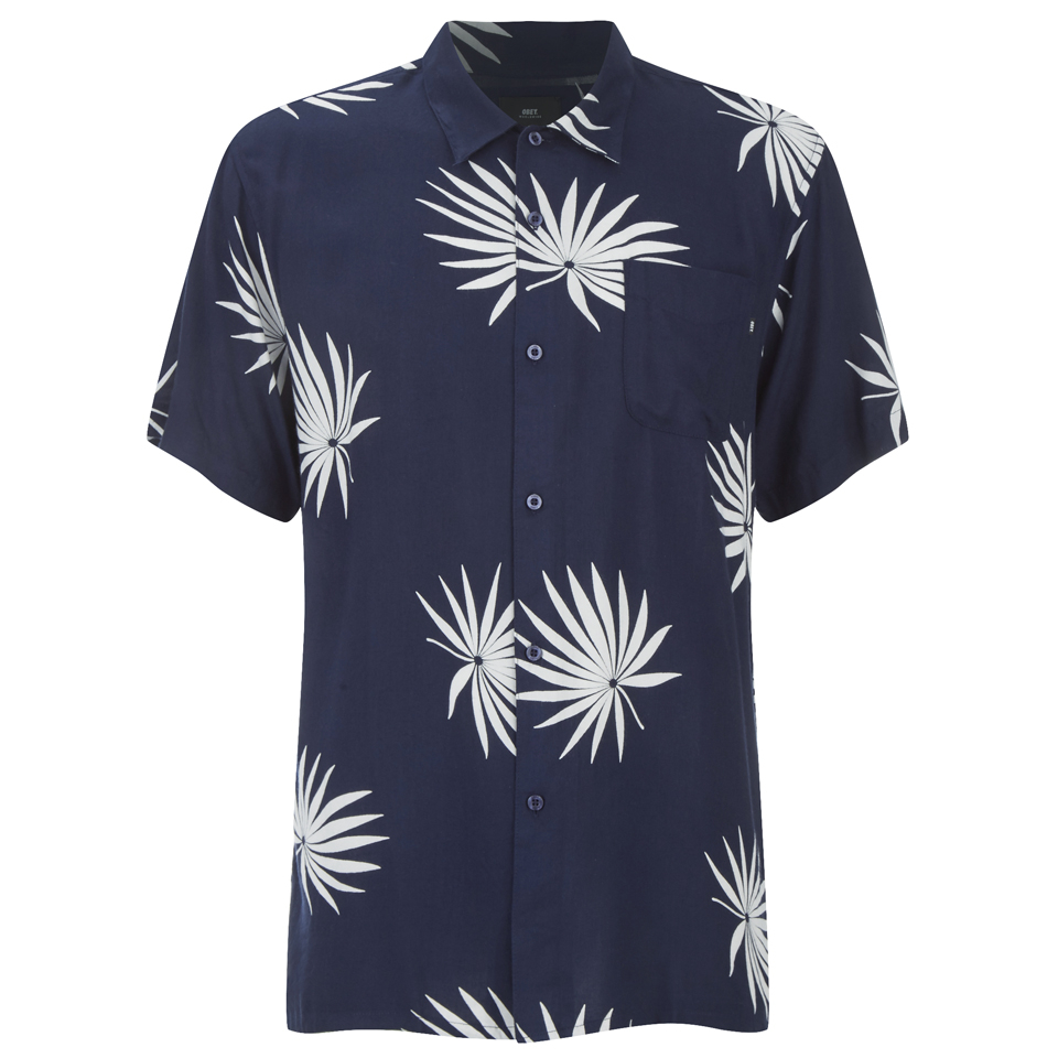 obey-clothing-men-palm-fan-woven-short-sleeve-shirt-navy-white-print-m