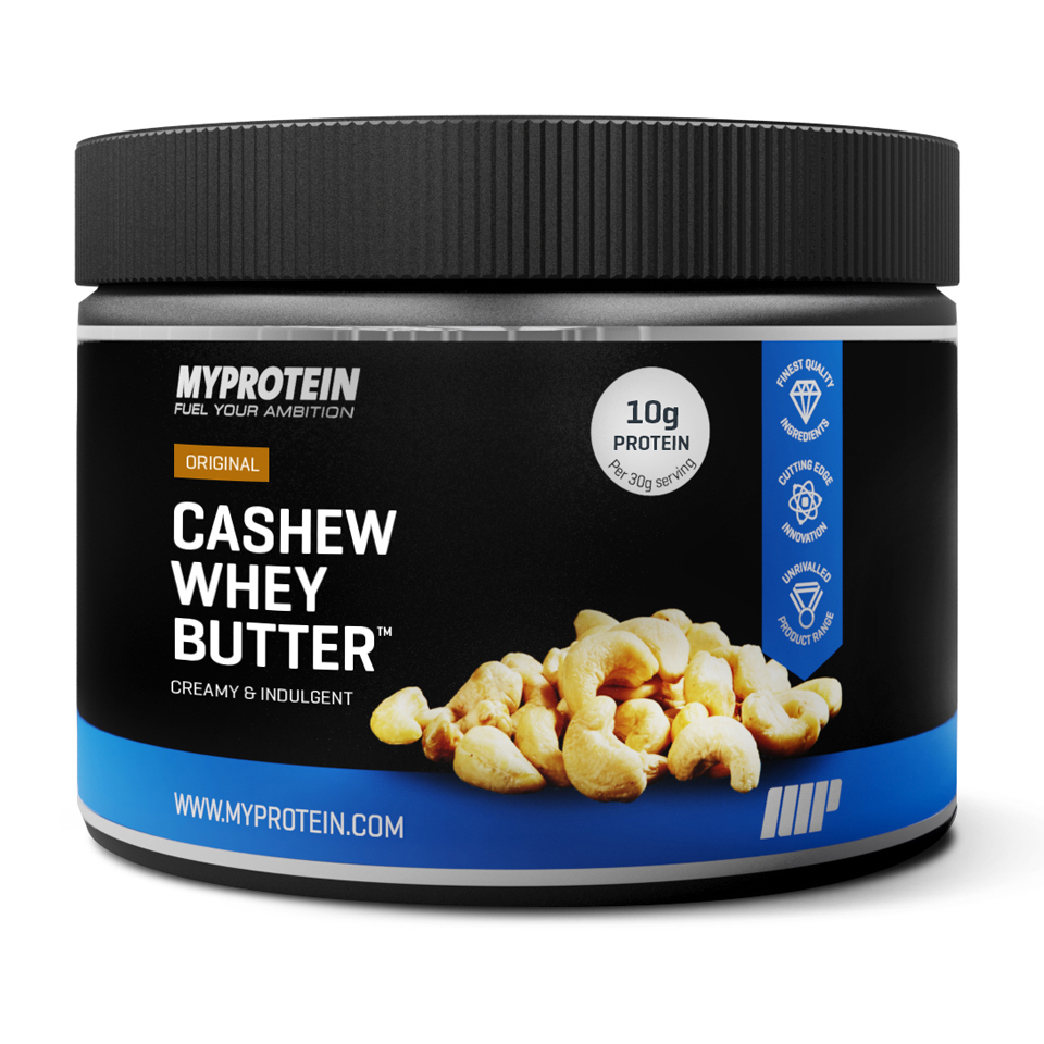 Foto Protein Enhanced Cashew Butter, Cranberry & White Chocolate, 250g Myprotein