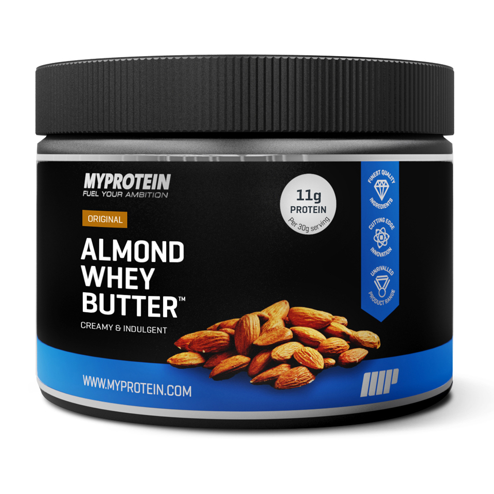 Foto Protein Enhanced Almond Butter, Honey, 250g Myprotein
