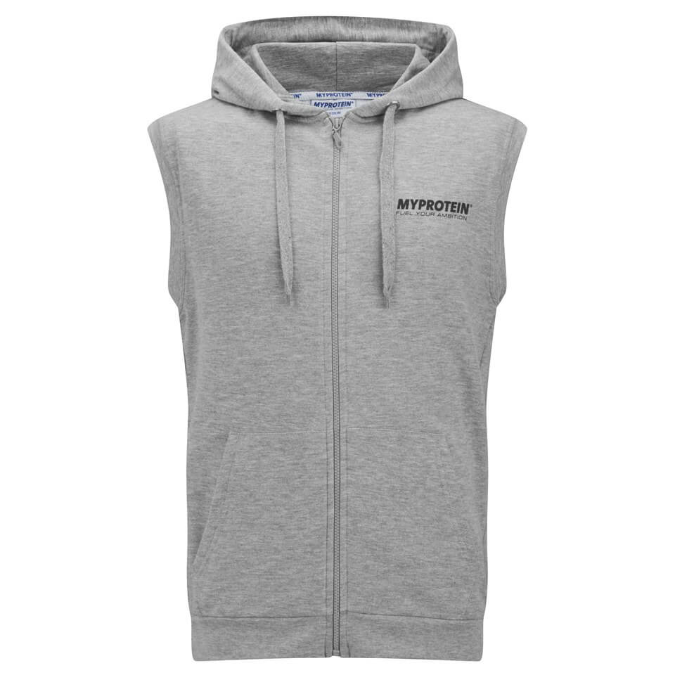 Myprotein Men's Sleeveless Hoodie - Grey Marl, S