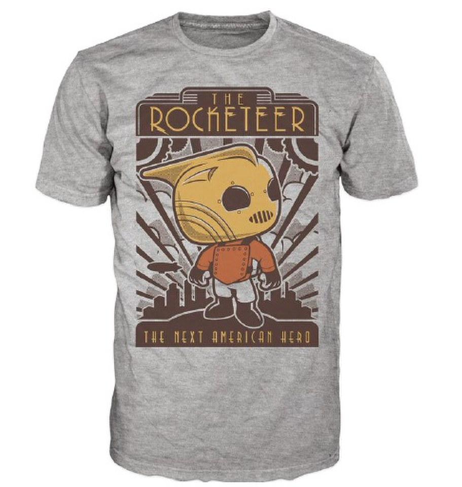Disney The Rocketeer Pop! T Shirt Grey XL Grau