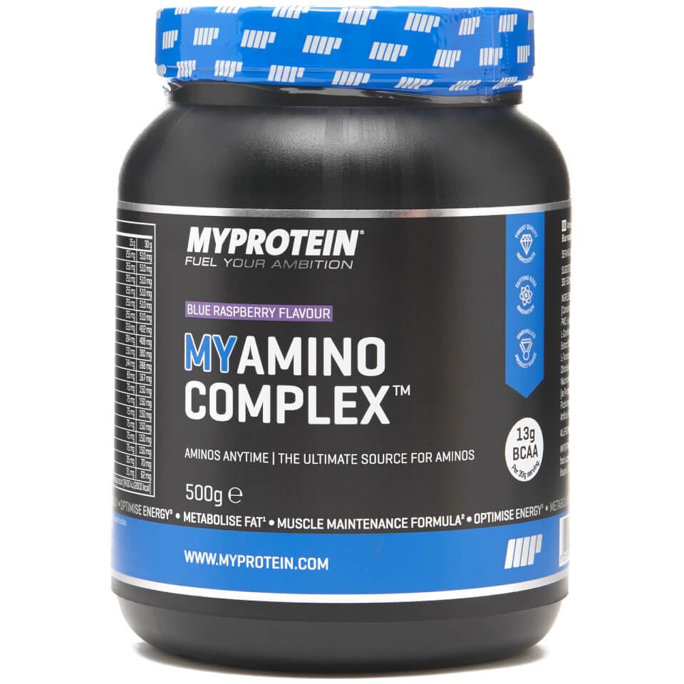 Foto MyAmino Complex, Peach Mango, 500g Myprotein Nutrizione sportiva